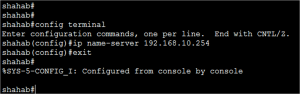 Basic Cisco Router Configuration Step 17