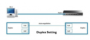 Duplex and Speed Setting on Switch 4