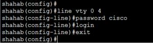 Basic Cisco Router Configuration Step 14