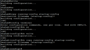 Basic Cisco Router Configuration Step 20