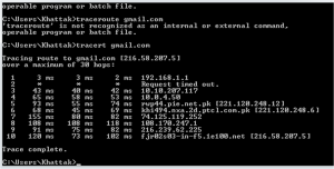 Ping and Traceroute 6