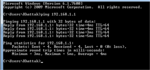 Ping and Traceroute 4