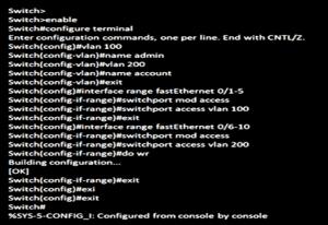 Legacy Inter-VLAN Routing 4