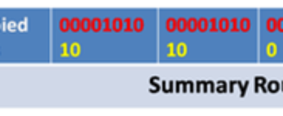 Summary Static Rout