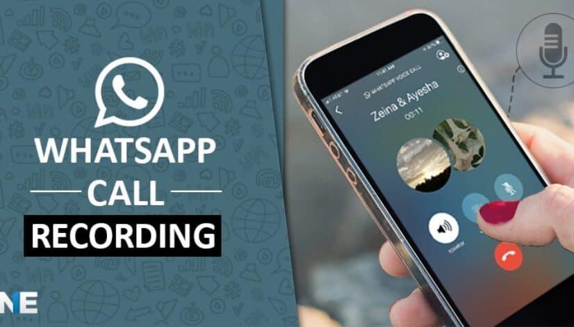 WhatsApp call recording