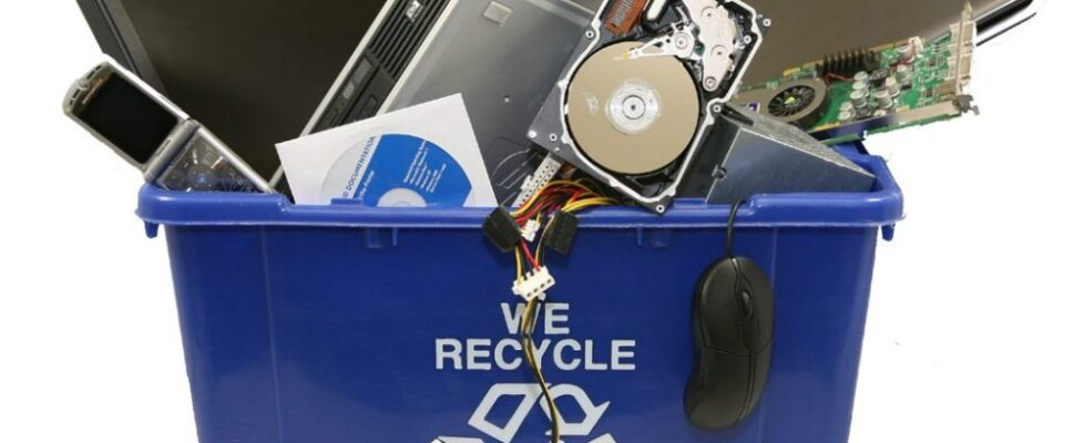 How to recycle your old computer?
