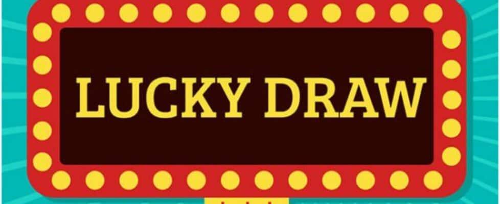 Winning easy money in lucky draws