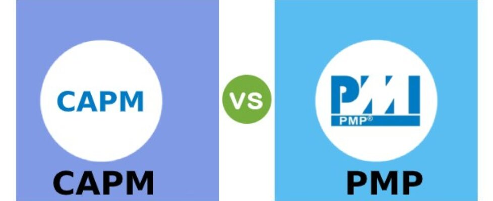 CAPM vs PMP the most notable industry-recognized Certification